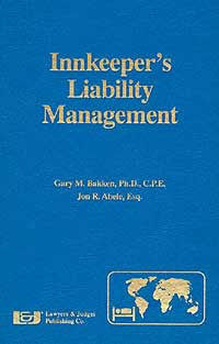 Innkeeper's Liability Management - Lawyers & Judges Publishing Company, Inc.