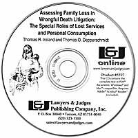 Assessing Family Loss in Wrongful Death Litigation - Lawyers & Judges Publishing Company, Inc.
