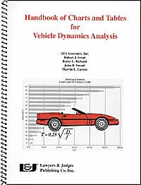 Handbook of Charts and Tables for Vehicle Dynamics Analysis - Lawyers & Judges Publishing Company, Inc.