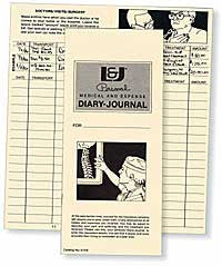 Medical & Expense Diary Journals - Lawyers & Judges Publishing Company, Inc.