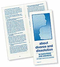 About Divorce and Dissolution (Revised and Updated) - Lawyers & Judges Publishing Company, Inc.