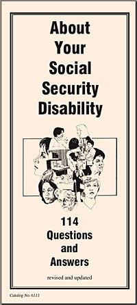 About Your Social Security Disability: 114 Questions and Answers - Lawyers & Judges Publishing Company, Inc.
