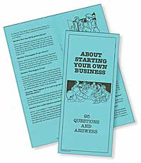 About Starting Your Own Business: 95 Questions and Answers - Lawyers & Judges Publishing Company, Inc.