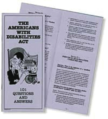 The Americans with Disabilities Act: 101 Questions and Answers - Lawyers & Judges Publishing Company, Inc.