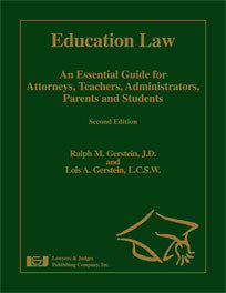 Education Law 2nd Edition - Lawyers & Judges Publishing Company, Inc.