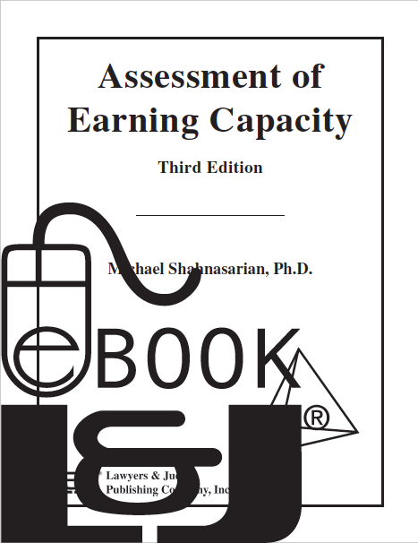 Assessment of Earning Capacity, Third Edition PDF eBook - Lawyers & Judges Publishing Company, Inc.