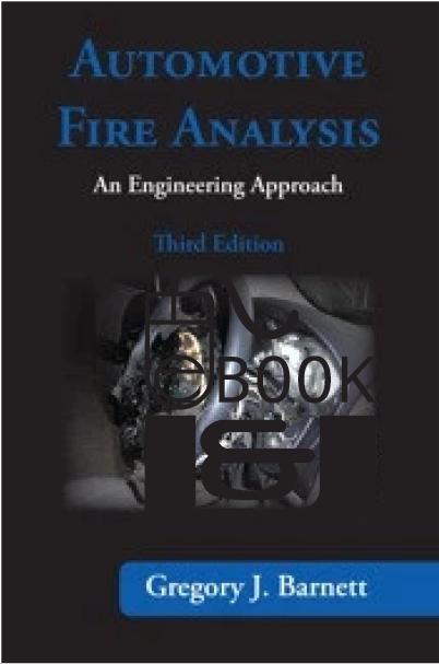 Automotive Fire Analysis 3rd Edition PDF eBook - Lawyers & Judges Publishing Company, Inc.
