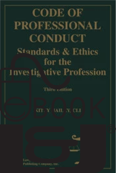 Code of Professional Conduct, Third Edition PDF eBook - Lawyers & Judges Publishing Company, Inc.