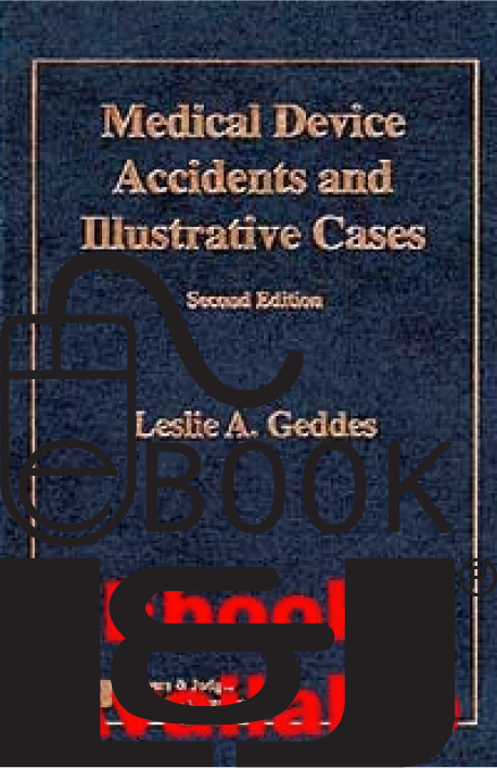 Medical Device Accidents & Illustrative Cases, Second Edition PDF eBook - Lawyers & Judges Publishing Company, Inc.