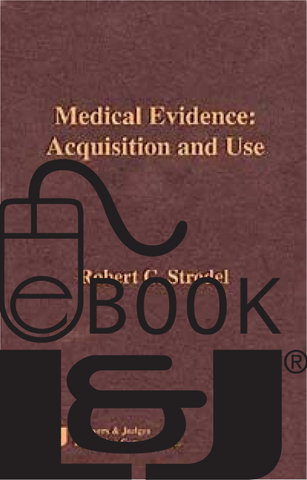 Medical Evidence: Acquisition and Use PDF eBook