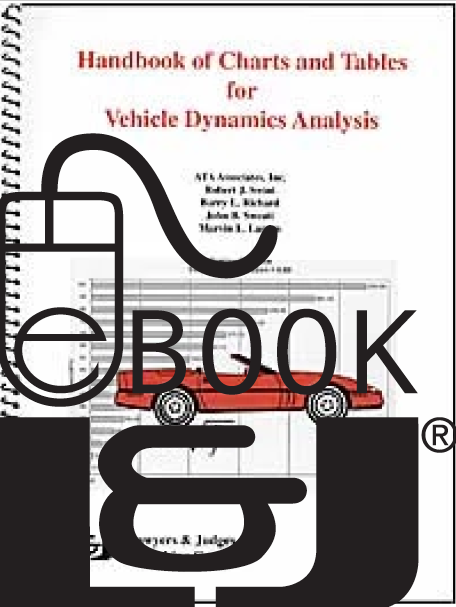 Handbook of Charts and Tables for Vehicle Dynamics Analysis PDF eBook - Lawyers & Judges Publishing Company, Inc.