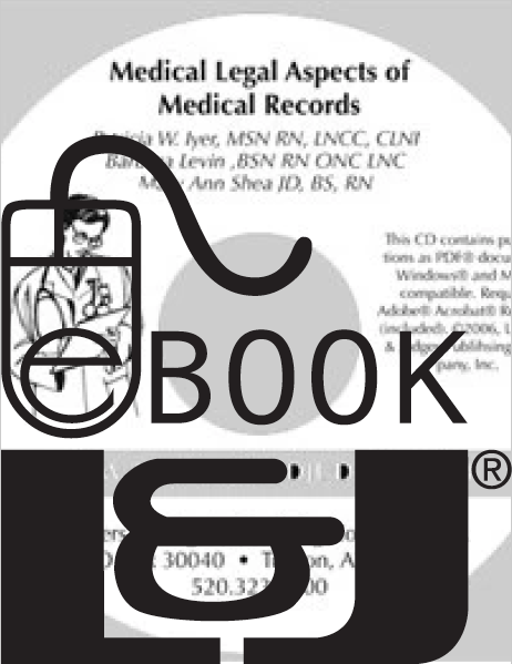 Medical Legal Aspects of Medical Records, First Edition PDF eBook - Lawyers & Judges Publishing Company, Inc.