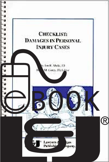 Checklist: Damages in Personal Injury Cases PDF eBook - Lawyers & Judges Publishing Company, Inc.