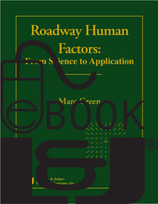 Roadway Human Factors: From Science to Application PDF eBook - Lawyers & Judges Publishing Company, Inc.
