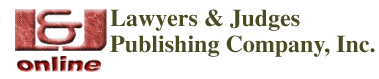 Lawyers & Judges Publishing Company, Inc.
