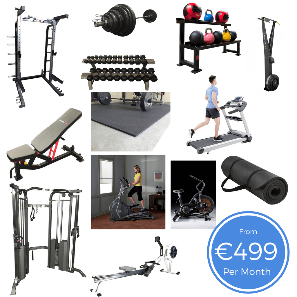 Office Gym Bundle 1000sq ft
