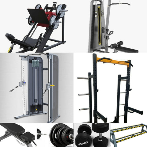 Ultimate Commercial Home gym (Preorder available April 2021)