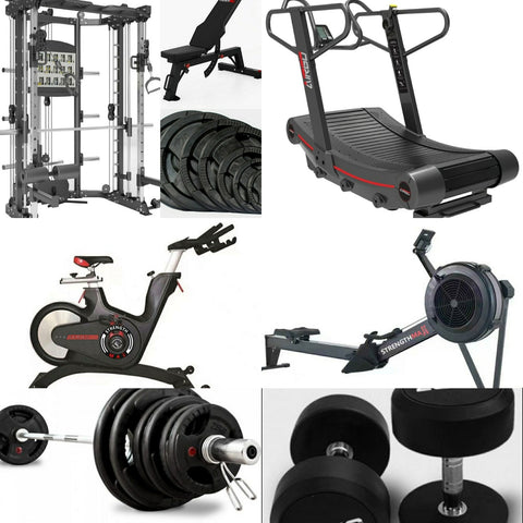 Commercial Strength and Cardio Bundle ( Preorder for delivery April 2021)