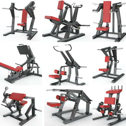 Strengthmax Pro Series Ultimate Plate Loaded Bundle