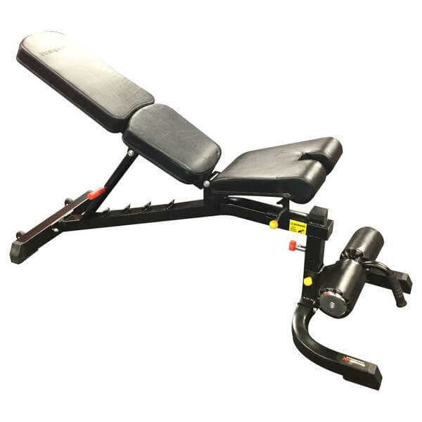 Strengthmax Heavy Duty FID Bench With Leg support