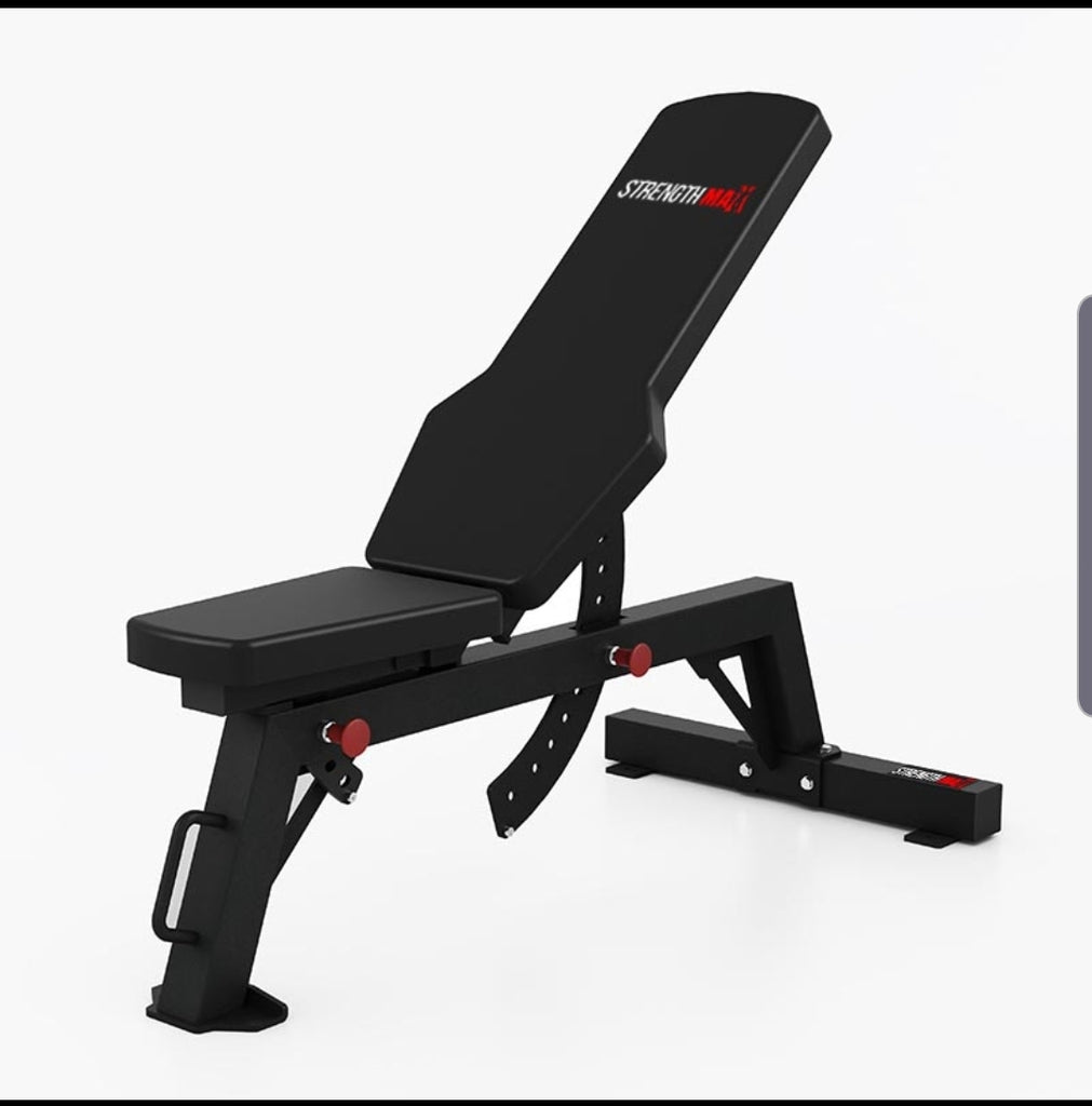 StrengthMax Pro Series Commercial bench (preorder for delivery collection mid sept)