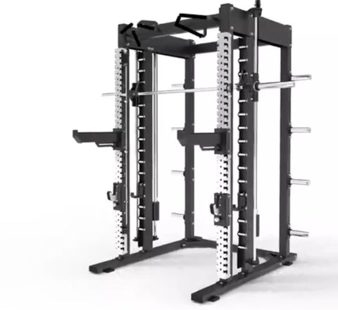 Strengthmax Pro Series Commercial Power Rack & Smith Machine (Preorder Due May 2021)