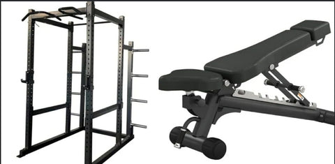 Commercial Power Cage & Bench Combo(Due March)