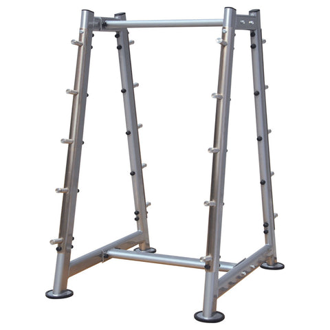 10 Pair Fixed Barbell Rack