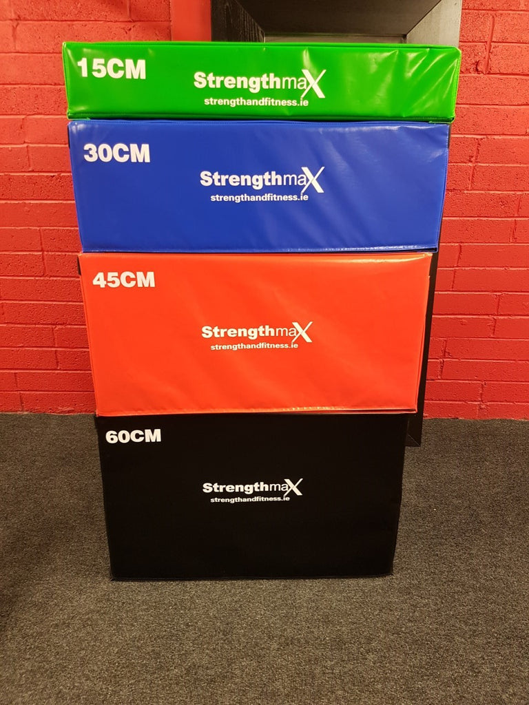 Strengthmax Foam Plyo Box Set