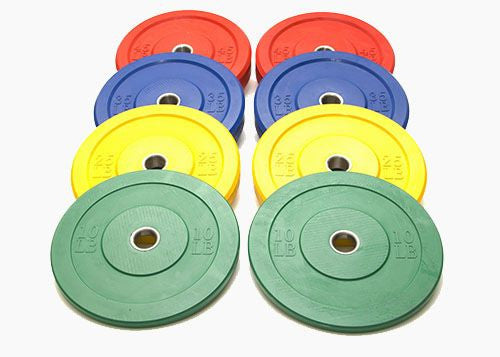 150 kg Color Bumper Set (no bar)