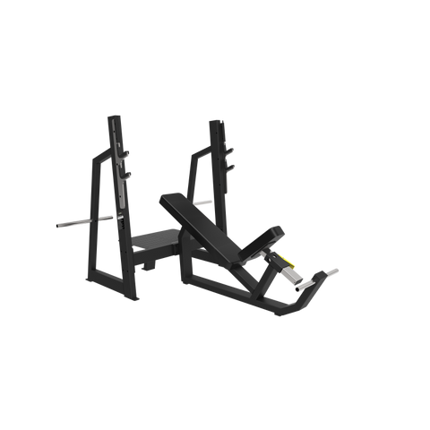 Primal Strength Commercial Incline Olympic Gym Bench