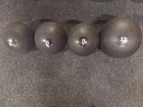 6  9  12   15kg Slam Ball Set