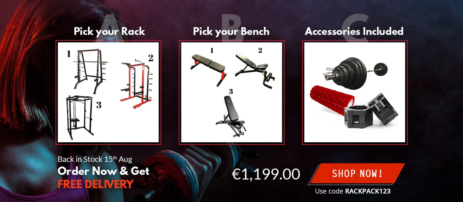 Gym Equipment Summer Sale