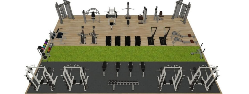 Customised Gym Design