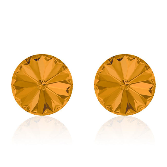 Pumpkin Pie Rivoli Earrings