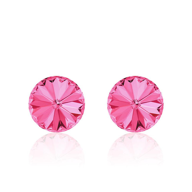 Bubblegum Rivoli Earrings