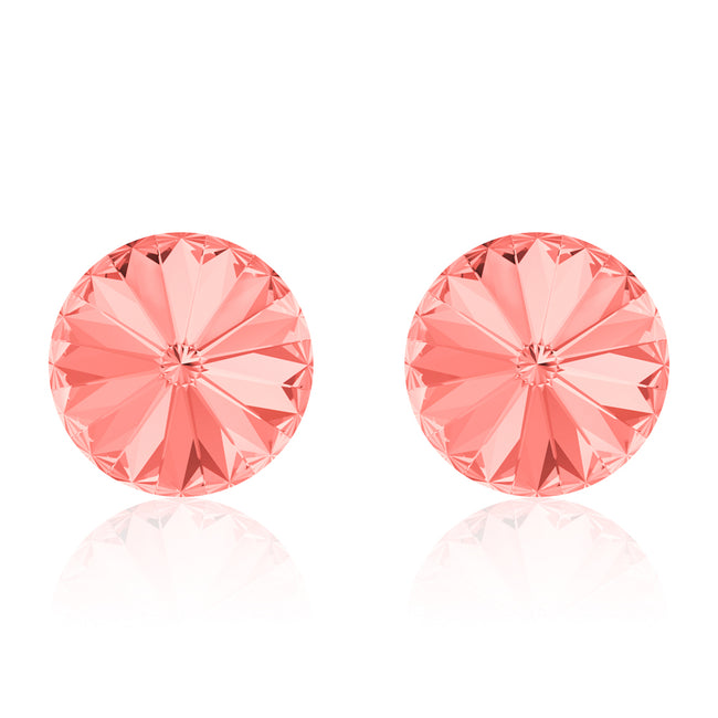 Corail Rose Rivoli Earrings