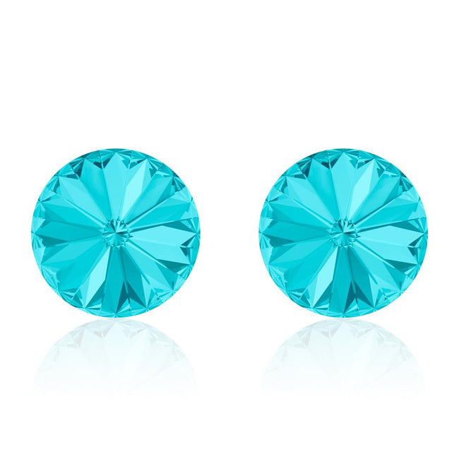 Aqua Rivoli Earrings
