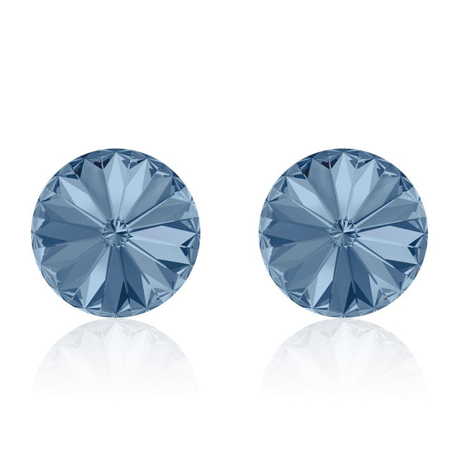 Denim Rivoli Earrings