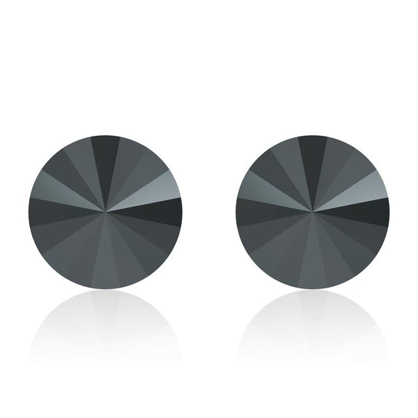 Jet Noir Rivoli Earrings