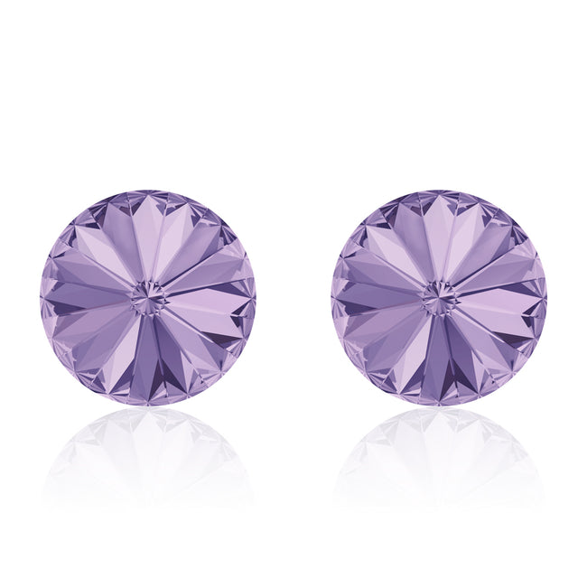 Violet Rivoli Earrings