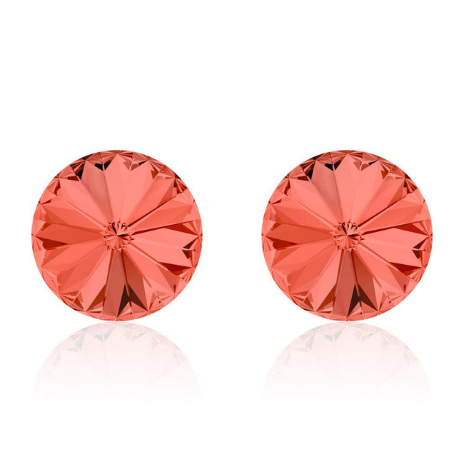 Melon d'Eau Rivoli Earrings