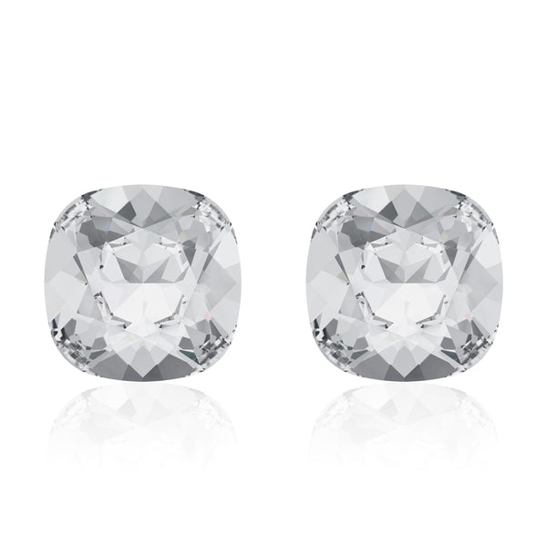 Cristal Cushion Earrings (Mini)