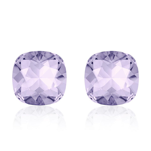 Violet Cushion Earrings