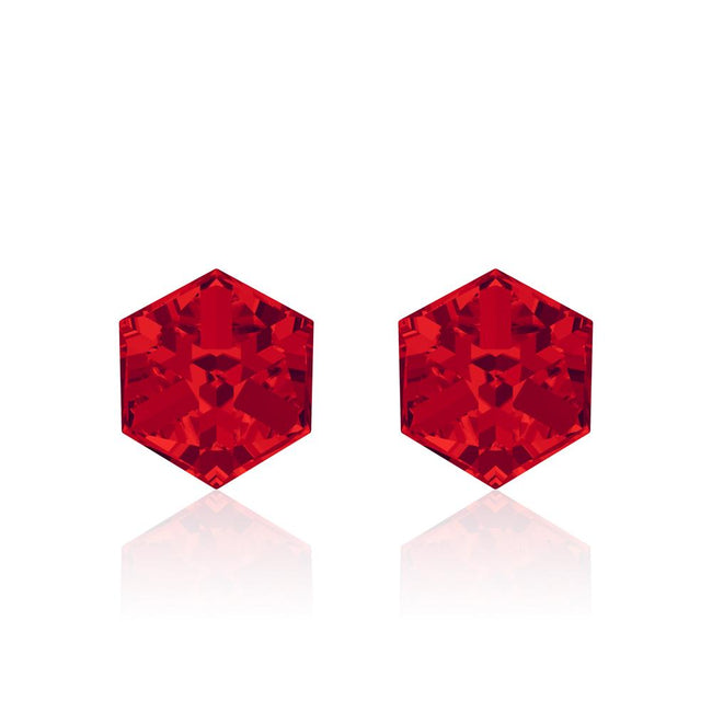 Cherry Pie Cube Earrings