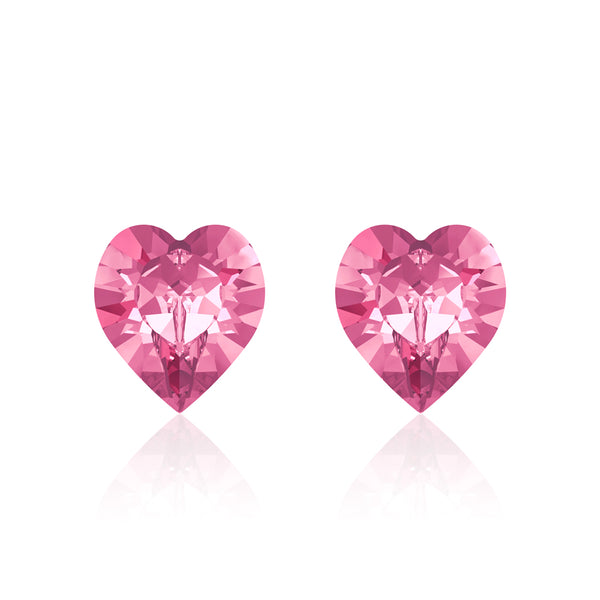 Bubblegum Heart Earrings