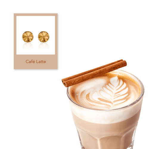 Rivoli Café Latte Earrings