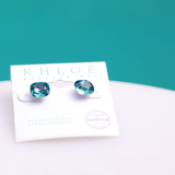 Splash Cushion Earrings
