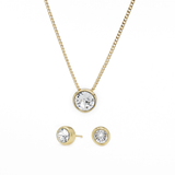 Khloe Essentiel Crystal Set - Gold