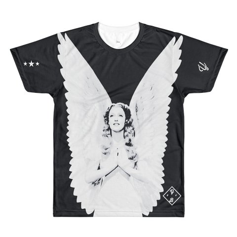 Young Angelic AOP Short Sleeve Shirt